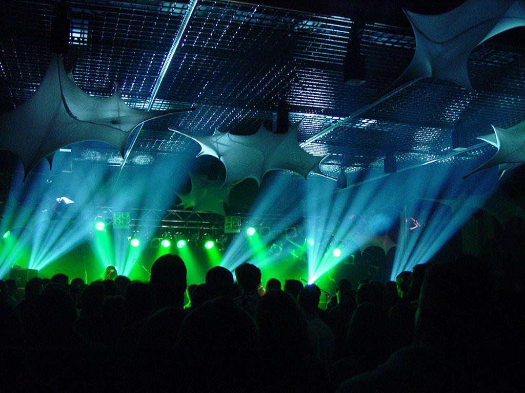 Konzert Lichttechnik Spotlight Music
