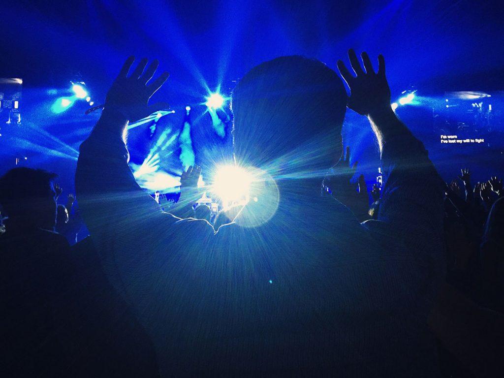 Konzert Technik Licht spotlight music