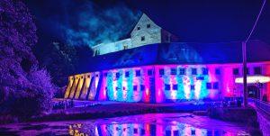 SchlossKlippenstein_Sommer_Kurzfilm_Nacht_spotlight_music_illumination
