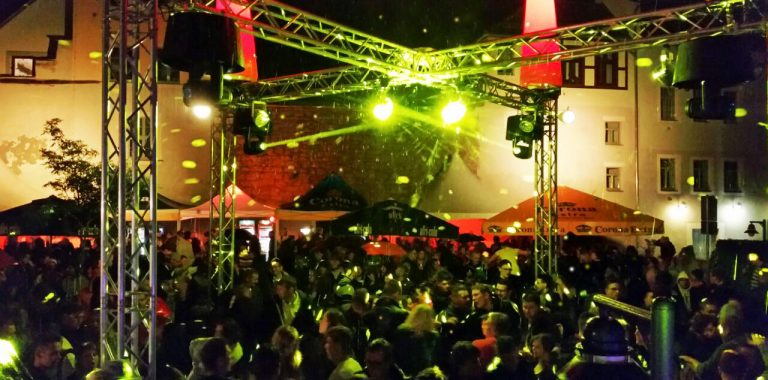 Technik zum Stadtfest Pirna Spotlight Music Veranstaltungstechnik