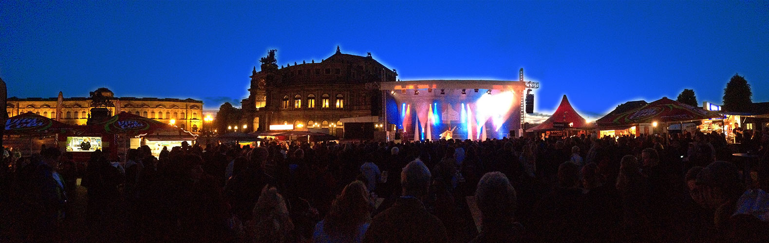 Theaterplatz Dresden CSD spotlightmusic