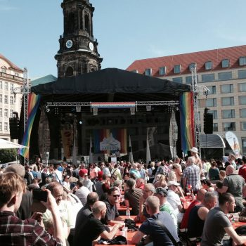 christoper street day altmarkt dresden veranstaltungstechnik-spotlightmusic